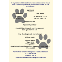 Pups & Pals Warrington Pet Services