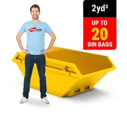 2 CUBIC YARD MINI SKIP