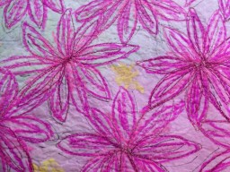 Creative Textiles - Paper Fabric with Free-Motion