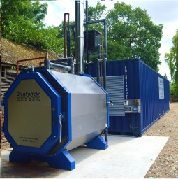 GlenFarrow Biomass Boiler and Wood Dryer
