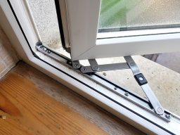 window hinges, pvc window repairs, hinges replaced