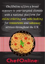 National Platform for Restaurant Online Ordering S