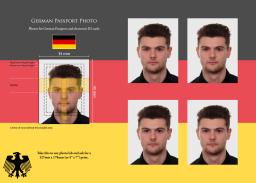 German Passport photos