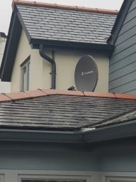 Satellite dish installation helston