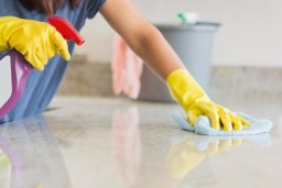 cleaning counter top