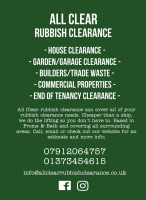 ALL CLEAR Rubbish Clearance