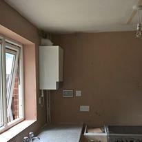 Kitchen Re-Skim in conjunction with Jayplastering