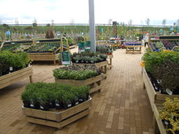 plant display benching for garden centres