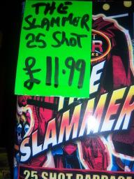 Slammer now £9.95