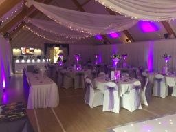 Slinkies Events Limited Wedding Reception Room