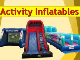 Inflatable games in Sheffield and Chesterfield