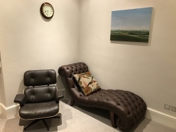 Psychotherapy clinic room
