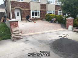 Driveway installation in Dublin