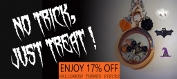 Pendique Lockets Halloween Offer