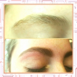 Eyebrow Waxing Threading Tinting