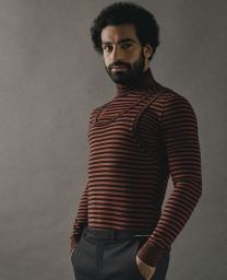 Mo Salah shoot for Esquire