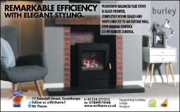 Burley Pickworth balanced flue stove