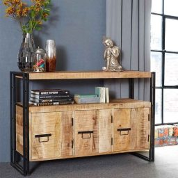 Industrial Furniture | Cosmo Solid Mango Wood