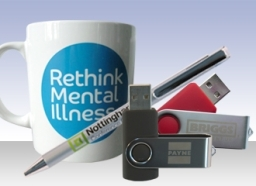 A collection of Promotional Merchandise created by Blueprint
