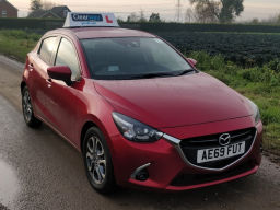 Learn to drive in a Mazda 2 (petrol)