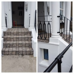 Croydon Stone Stairs Tiling and External Painting
