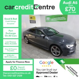 Used Audi Cars on Finance