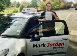driving lessons swadlincote Kevin passes 1st time