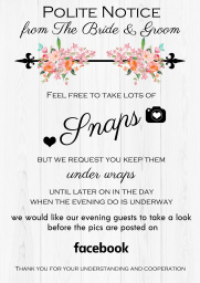 Wedding Guest Signs