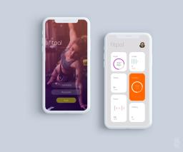 Averma mobile phone app design