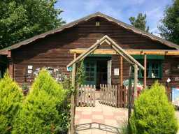 Lovely lodge-style nursery