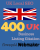 400 UK Business Listings for £20