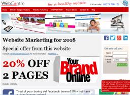 Spalding Web Design and website marketing services