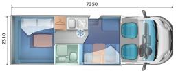 6 BERTH AUTO ROLLER 747 LAYOUT