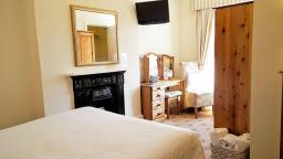 Standard Ensuite Room 1 which overlooks the garden of our guest house in Chester.