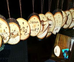 personalized Christmas Wood Hanging Ornaments