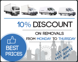 All Removals London Promotional Banner