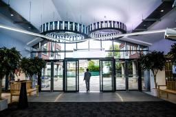 Collegiate Eclipse Cardiff lobby