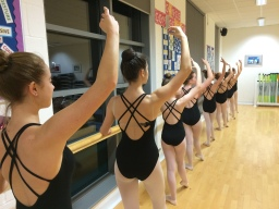 Grade 4 Ballet Girls