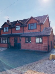 2 storey extension by builders Leicester