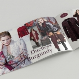 Womenswear Fashion Brochure Design