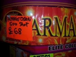 Armaggedon now £65