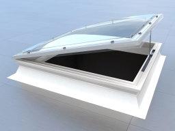 Manual opening rooflight