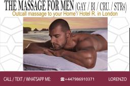 male massage, gay massage london