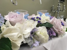 Romantic Wedding Flowers by Flower Design, Ripon