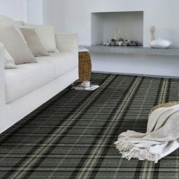 TARTANESQUE GLEN ISLA CARPET ROOMSHOT MOSELEY INTE