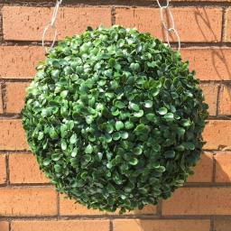 UV stable artificial topiary ball