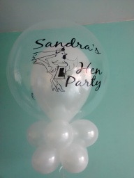 Met Henrietta our hen night balloon