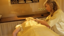 Blissful therapies in our stunning monile suite