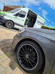 Mercedes alloy refurb at home