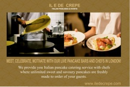 crepe catering caterer London simmons creperie